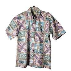 Vintage 1994 Men's Reyn Spooner Mele Kalikimaka Shirt sz L