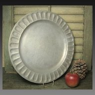 Gorgeous Heavy Vintage WILTON Plate - Columbia, PA