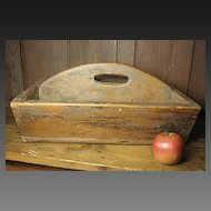 Wonderful Large Simple Wooden Handmade Farmhouse Carrier Tote