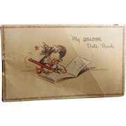 Sweet Old Vintage Hallmark Date Book - 1947