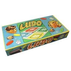 Old Vintage Board Game LUDO - Excellent