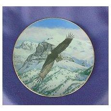Vintage The Eagle Soars Plate Hamilton Collection