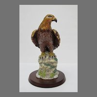 Vintage Royal Doulton Golden Eagle Figurine