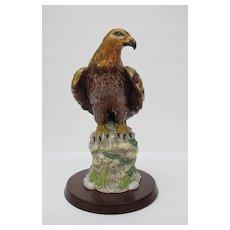 Vintage Royal Doulton Golden Eagle Figurine