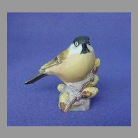 Vintage Royal Worcester Marsh Tit Figurine
