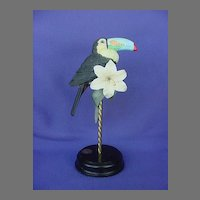Vintage Willits Galleries Toucan Figurine