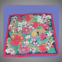 Vintage Toucan Scarf