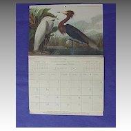 Mid Century Audubon Advertising Calendar