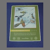 International Migratory Bird Day Poster