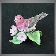 Lenox China Purple Finch Figurine