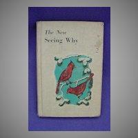 Seeing Why Vintage Children's Book Cardinal