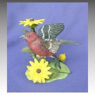 Lenox White Winged Crossbill Figurine