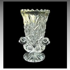 Byrdes Crystal Toothpick Holder in Original Box