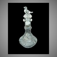 Byrdes Crystal Perfume Bottle from Germany