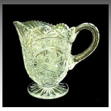 Hofbauer Byrdes Crystal Milk Pitcher