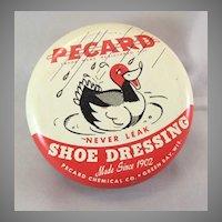 Vintage Pecard Duck Shoe Dressing Tin
