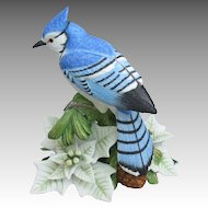Lenox Christmas Male Blue Jay Figurine