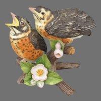 Lenox Baby Robins Figurine