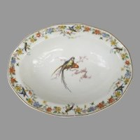 Haviland Limoges Arcadia Parrot Vegetable Bowl