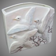 Vintage Pigeon Dove Vase Planter