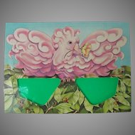 Vintage Cockatoo Postcard with Sunglasses