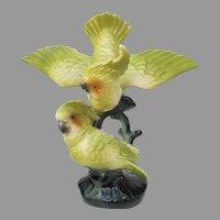 Vintage Maddux Pottery Cockatoo Parrot Figurine