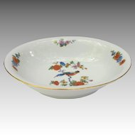Vintage Bird of Paradise Vegetable Bowl