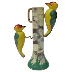 Vintage Grorud Norway Woodpecker Bar Set