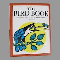 Vintage The Bird Book Poetry Fables Stories about Birds