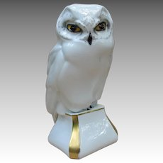 Vintage Hutschenreuther Germany Snowy Owl Figurine