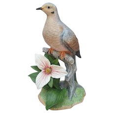 Lenox Garden Birds Collection Mourning Dove Figurine