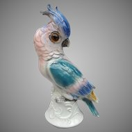 Vintage Cockatoo Parrot Perfume Lamp from Germany