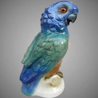 Vintage Parrot Perfume Lamp