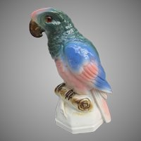 Vintage Perfume Lamp Parrot from Germany
