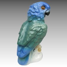 Vintage parrot Perfume Lamp Nightlight  from Germany