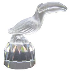 Rare Swarovski  Crystal Toucan from Zales