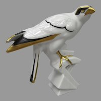 Art Deco Hawk Falcon Figurine from Germany
