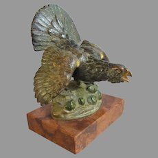 Vintage Grouse Bronze from France