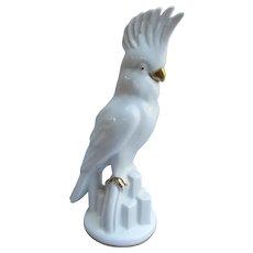 Art Deco Cockatoo Figurine from Germany