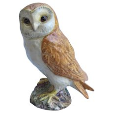 Vintage Beswick Barn Owl Figurine