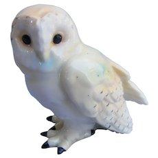Rare Danish Barn Owl Figurine Vintage