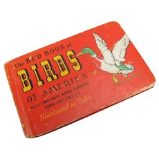 Vintage The Red Book of Birds of America