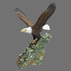 Vintage Hour of Power Anniversary Eagle Figurine