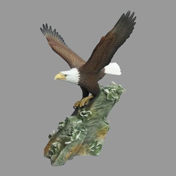 Vintage Hour of Power Anniversary Eagle Figurine