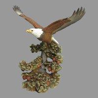 Vintage Porcelain Eagle Figurine Michael Maiden