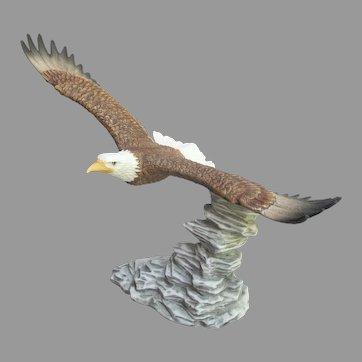 Vintage Soaring Eagle Figurine