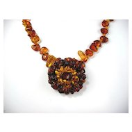 Artisan Crafted Baltic Amber Necklace