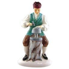 Royal Doulton  Porcelain Figurine- Silversmith of Williamsburg