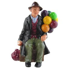 Royal Doulton  Porcelain Figurine-The Balloon Man
