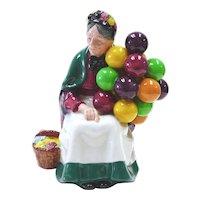 Royal Doulton  Porcelain Figurine- Old Balloon Seller
